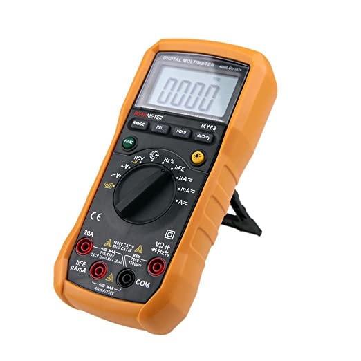 61 opinioni per HYELEC MY68 multimetro digitale 4000 Conta AC / DC Resistenza Capacità Frequenza