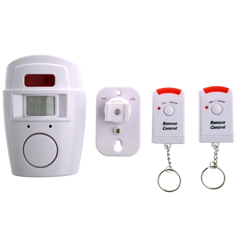 Sensor de movimiento con alarma para hogar