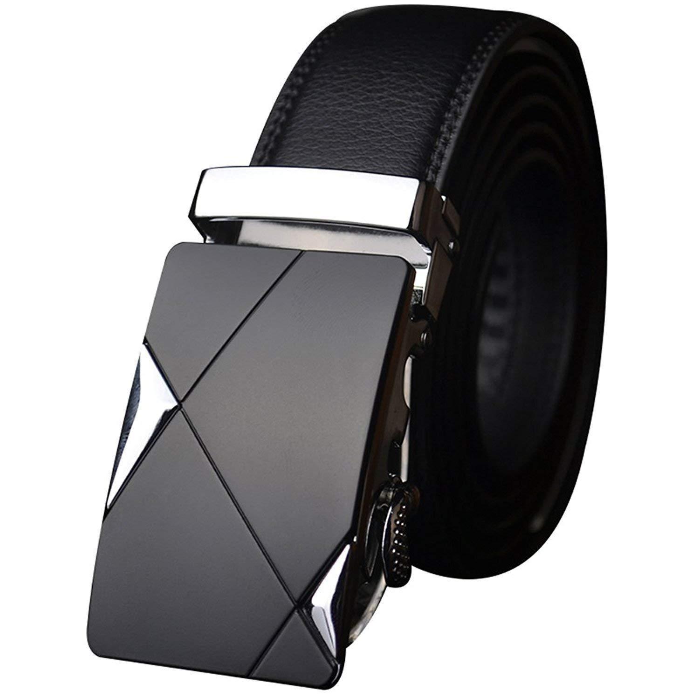 Leather Adjustable Buckle Belts