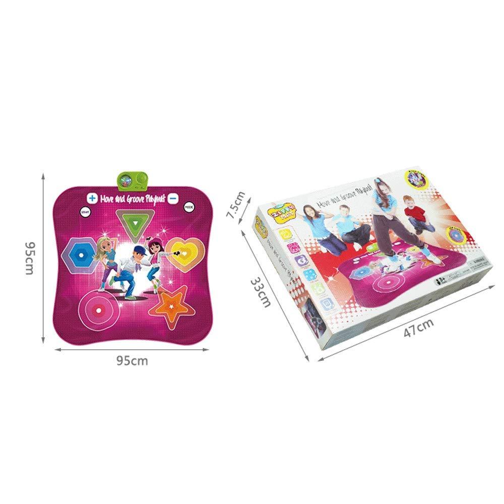 Little Toys Juguetes para nintilde;os 1-3-6 1-3-6 1-3-6 antilde;os de Edad, nintilde;os Educacioacute;n temprana Rompecabezas Muacute;sica Cubierta Alfombra Nintilde;os y nintilde;as Juguetes Musicales Regalos de cumpleantilde;os (Tamantilde;o : A) 2528ae
