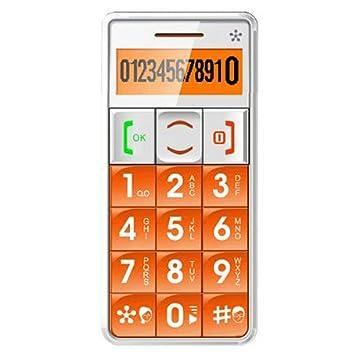 TELFONO CELULAR DESBLOQUEADO JUST5 J509 color Orange