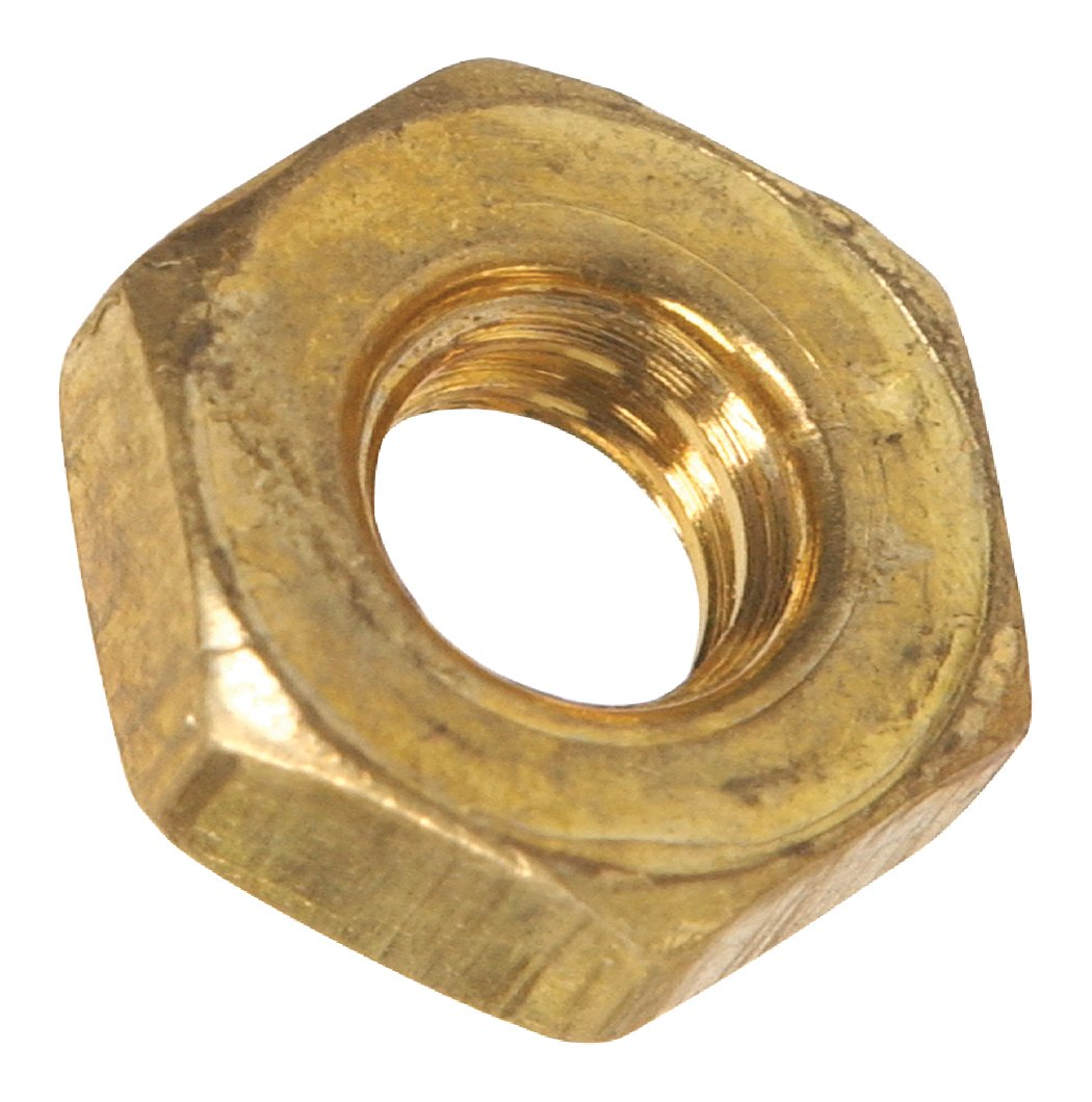 The Hillman GroupThe Hillman Group 7503 Hex Nut Brass 8-32 7-Pack
