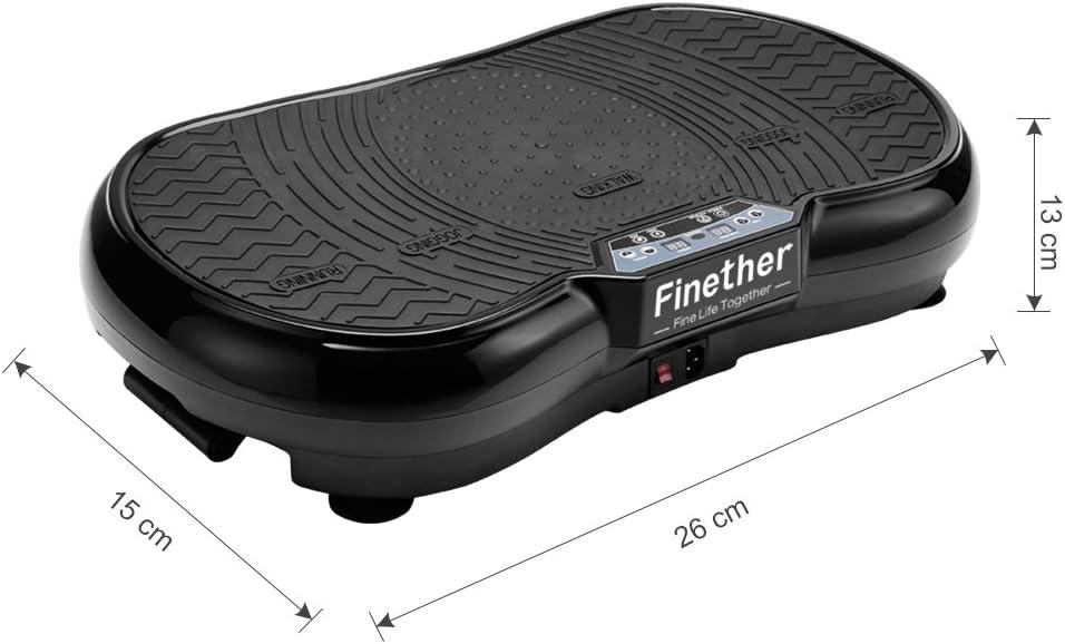Finether-Vibroshaper Plataforma Vibratoria Tonificador Muscular ...