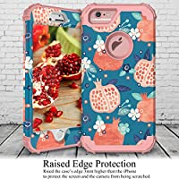 Amazon Com Kapcase Case For Iphone 6 Case For Iphone 6s 3 In 1