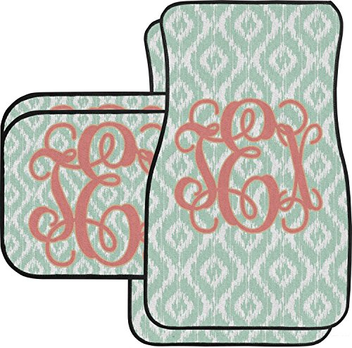 Monogram Car Mats (Monogram Car Floor Mats Set - 2 Front & 2 Back (Personalized))