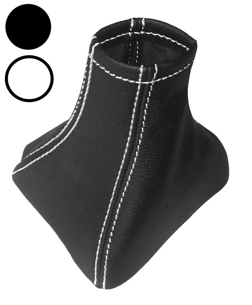 AERZETIX - Soufflet de Levier de Vitesse en 100% Cuir vé ritable (Coutures/Surpiqû res Bleues) NIK-VITOW639-MSK-L-OP