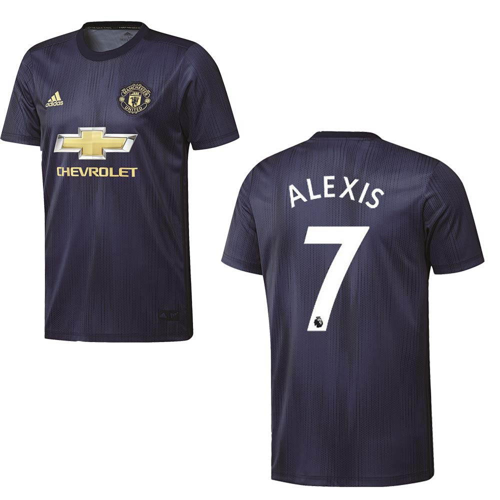 Adidas Manchester United Trikot 3rd Kinder 2018 2019 - Alexis 7