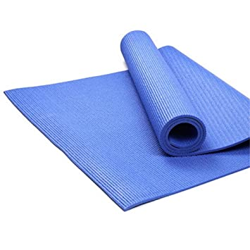 Aszhdfihas Alfombra de Yoga Mat Fibre4-8mm Azul Respetuoso ...