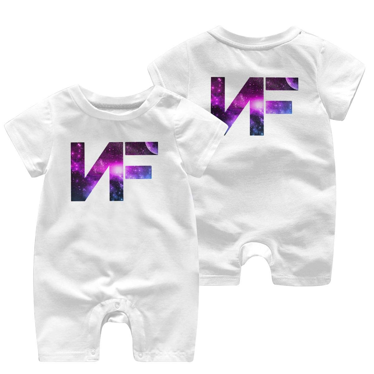 Double Print HGJLTY NF Baby Jumpsuit Boys Girls 100/% Cotton Short Sleeve Rompers