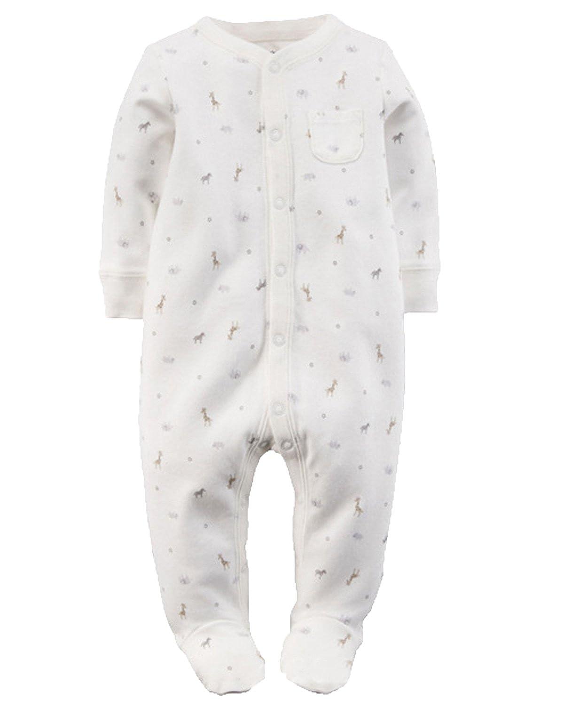 Kidsform Neonato Cotone Manica Lunga Romper Baby Tutina Attrezzatura Body Bimba Animale KIDSFORMyonnciiit18