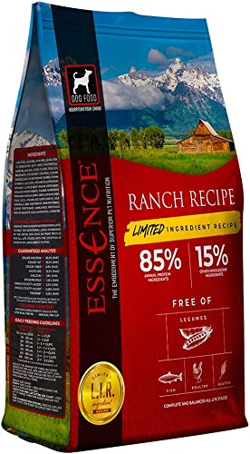 Essence Pet Foods Limited Ingredient Recipe Ranch Dry Dog Food