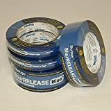 Shurtape 202872 6 Pack CP27 1x60yd 14-Day Blue Painters Tape