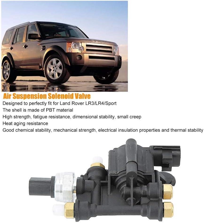 Elettrovalvola a solenoide RVH000046 Blocco elettrovalvola controllo sospensioni aria auto adatta per LR3 LR4 Discovery 3 4 Sport 2005-2013