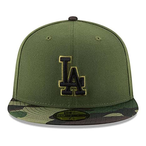 Amazon.com  100% Authentic LA Dodgers New Era Memorial Day Salute To  Service 9Fifty SnapBack Hat Cap One Size  Sports   Outdoors d56d48199e2