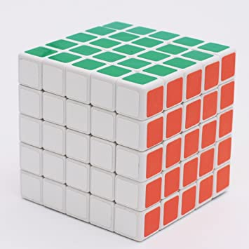 Shengshou 5x5 Speed Cube White