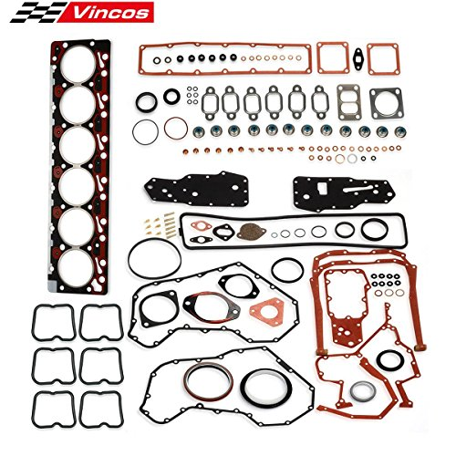 Fits For 89-98 DODGE RAM CUMMINS DIESEL 5.9L Full Head Gasket Set KBCSFGT6B ()