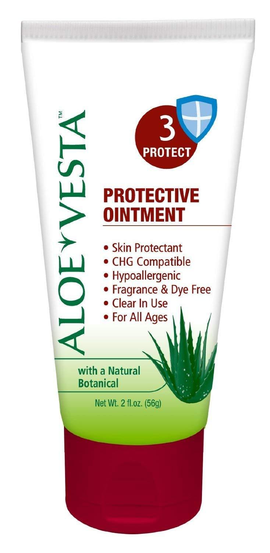 Aloe Vesta 2 in 1 Protective 3 Ointment, 2oz (3 Pack)