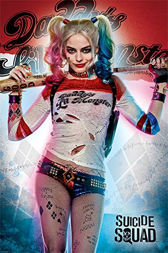 Suicide Squad - Movie Poster / Print (Harley Quinn - Daddy's Lil Monster) (Size: 24