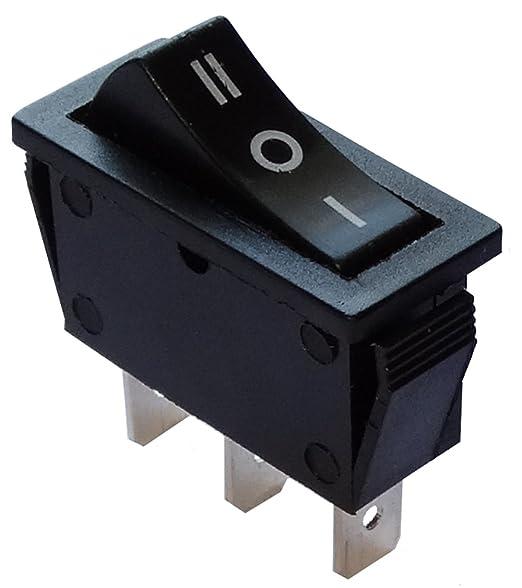 Knopfschalter Switch Kippschalter SPDT ON-OFF-ON 16A//250V 20A//28V 3 Positionen