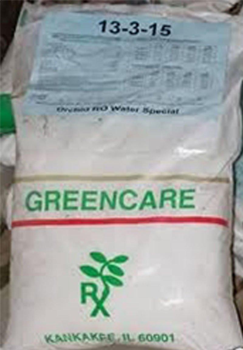 MSU Orchid Fertilizer 13-3-15 Reverse Osmosis, Rain, Tap Water Formula 1/2 Pound
