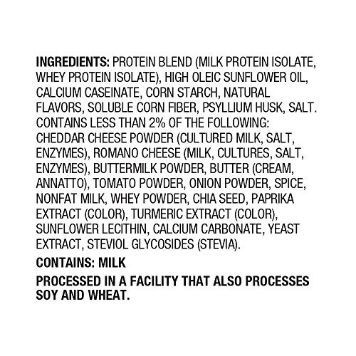 Quest Nutrition Tortilla Style Protein Chips, Nacho Cheese, Low Carb, Gluten Free, Baked, 8 Count