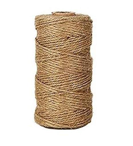 Amazon.com: 1 rollo de 328.1 ft de cuerda de algodón ...