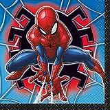Unique Spiderman Beverage Napkins, 16Ct