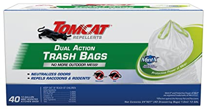 Amazon.com: TomCat 0492240 40 Count Dual Action Bolsa de ...