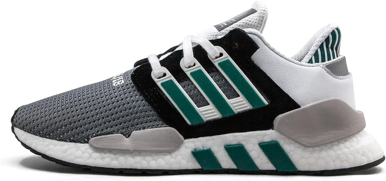 adidas Men's EQT Support 91/18 Core Black/Clear Granite/Sub Green AQ1037