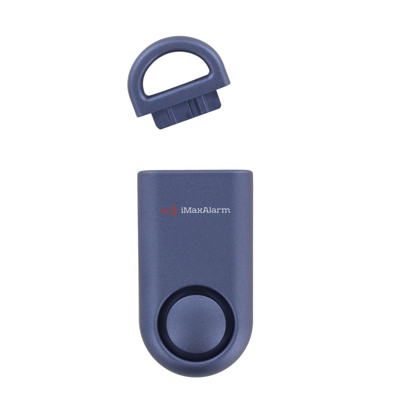 iMaxAlarm SOS Alert Personal Alarm - 130dB Alarm - Safety & Security Emergency Device - Matte Blue by iMaxAlarm (Image #2)