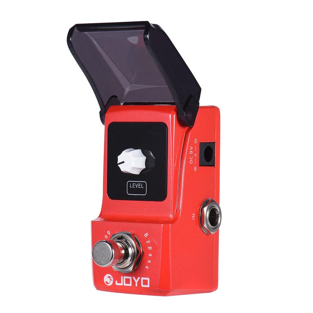 JOYO JF-329 Ironloop Loop Recording Guitar Effect Pedal Looper 20min Recording Time Overdub Undo Redo Functions True Bypass Andoer Guitar Looper