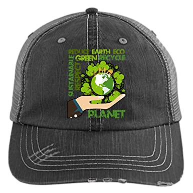 0c3dbcf5 Save The Earth Hat, Protect The Planet Trucker Cap (Trucker Cap - Black) at  Amazon Men's Clothing store: