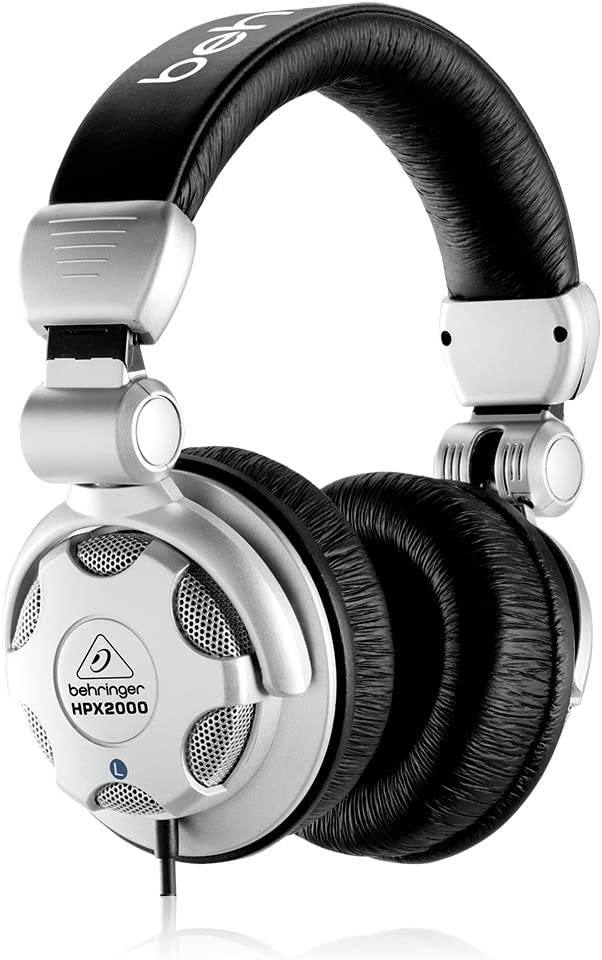 Behringer HPX2000 Headphones For guitar playing and also for the best for the noise cancelling  headphones for the guitar playing