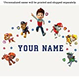 Personalized Paw PatrolTM Kids Name Wall Decal
