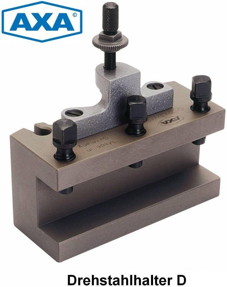 AXA Schnellwechsel-Drehstahlhalter D22//25//120 MULTIFIX BD 25120 Multifix Gr/össe B//Spannh/öhe 25mm Spannl/änge 120mm Made in Germany