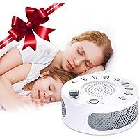 Appareil de sommeil therapie Liaboe aide au sommeil, Machine de Sonore Thérapie avec 9 Sons Naturel, 15/30/60 Minuterie d'Arrêt Automatique Sons Spa Relaxation pour Bébé, Adultepour Bébé