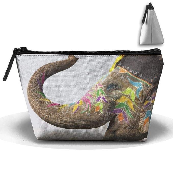 Tatuaje de Elefante India Animales Bolsa Trapezoidal a Prueba de ...