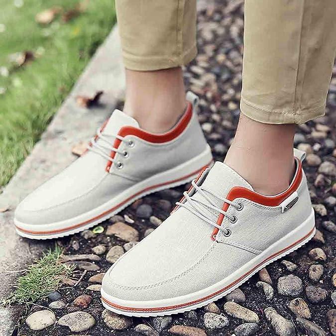 OHQ Mocasines Hechos A Mano Hombre Gran TamañO Zapatos Pisos Casuales Calzado: Amazon.es: Zapatos y complementos