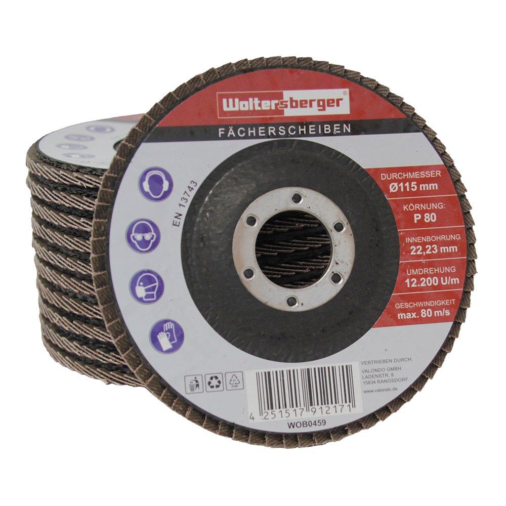 woltersberger Rondelle stri/ée 115/ 125/mm marron