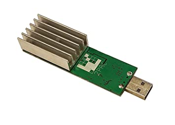 Rev 2 GekkoScience Pac Compac USB Stick Bitcoin Miner 15gh S BM1384x2
