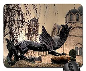 church of the holy trinity radovish macedonia Mouse Pad, Mousepad (Religious Mouse Pad, 10.2 x 8.3 x 0.12 inches)