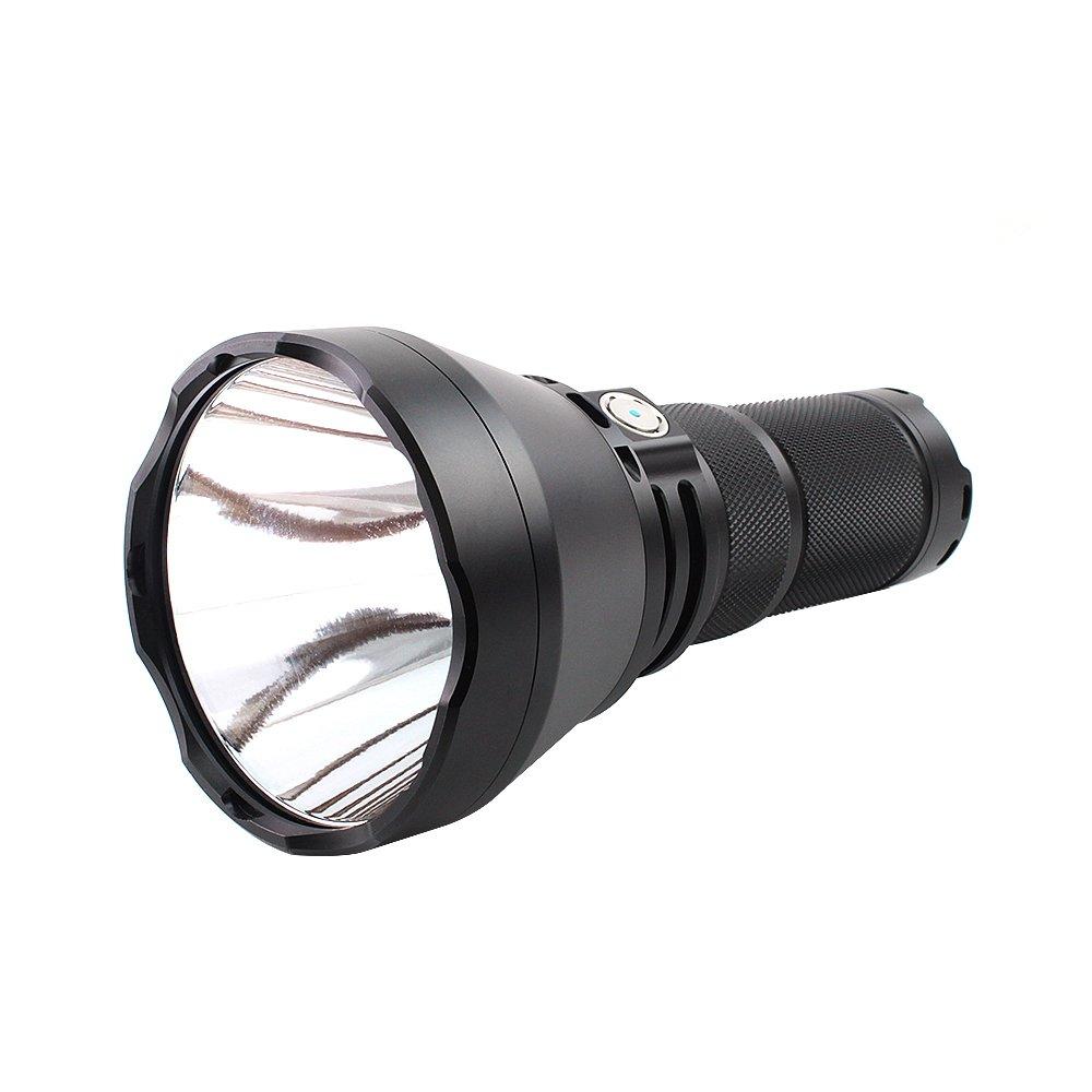 ThruNite TN42 2000 Lumen CREE XHP 35 Hi LED Flashlight Black Powered by 4 x 18650 Batteries(Cool White) by ThruNite (Image #3)