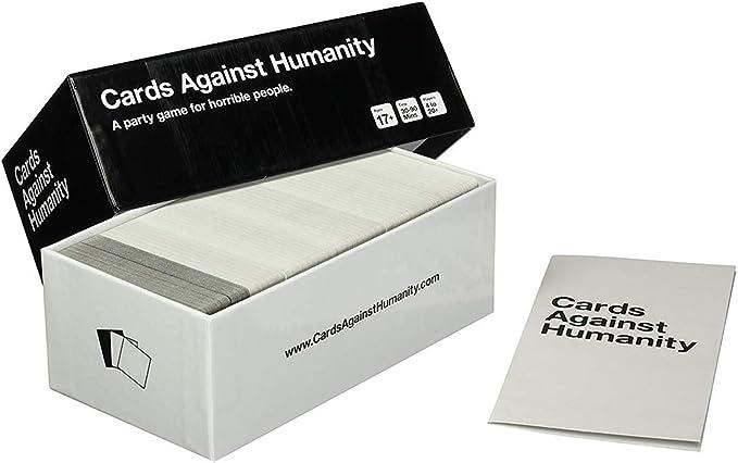 Juegos de cartas divertidos para adultos, contra cartas humanas -Juegos de mesa para adolescentes con un juego grupal, regalos de cumpleaños para fiestas (un juego de fiesta para gente horrible): Amazon.es: Hogar