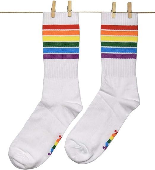 Roits Calcetines Pride Sport Blancos 41-46 - Calcetines Originales Deportivos Hombre: Amazon.es: Ropa y accesorios
