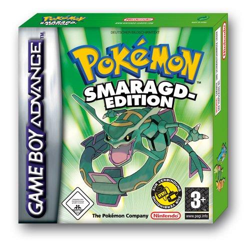 GameBoy Advance - Pokemon Smaragd Edition / Emerald Pokemon Emerald Game Boy Advance