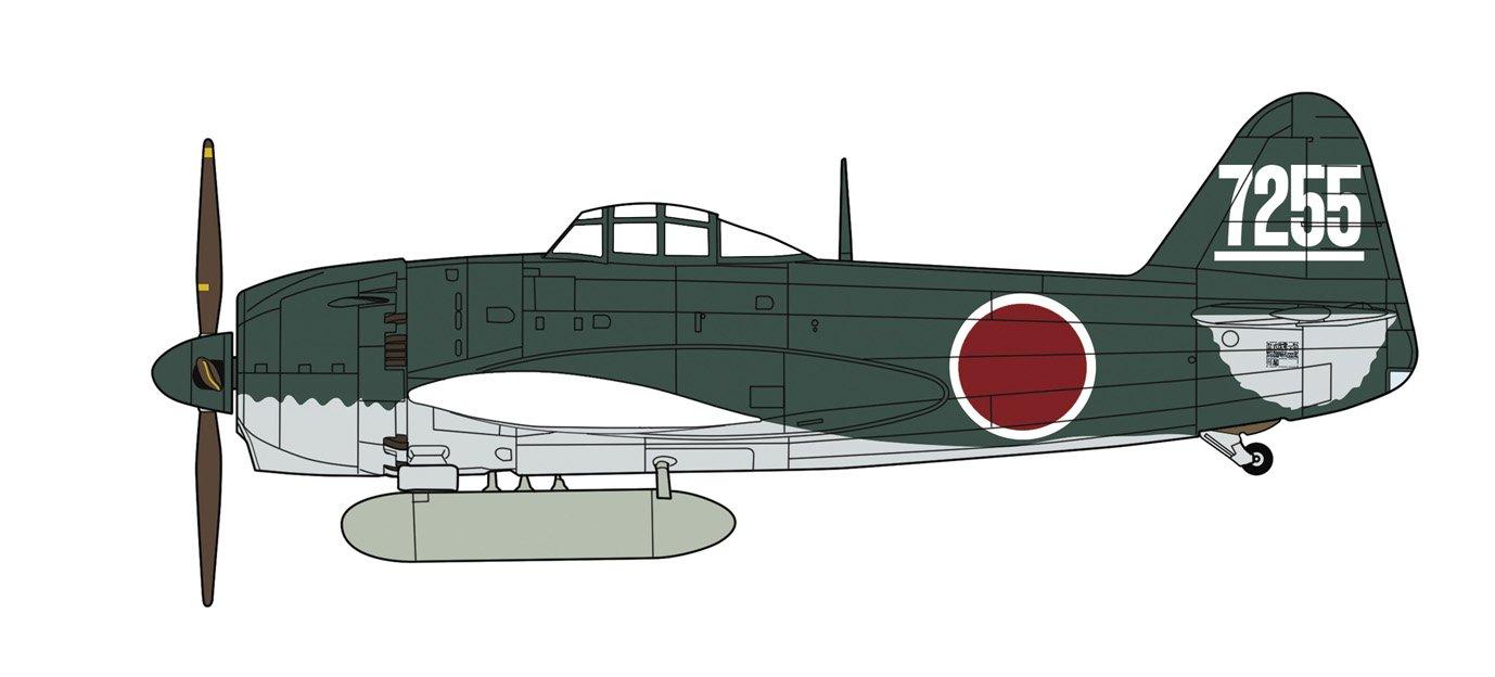 Hasegawa 007449 1/48 Kawanishi N1K1Jb Shiden George, Type 11 Otsu Rollout
