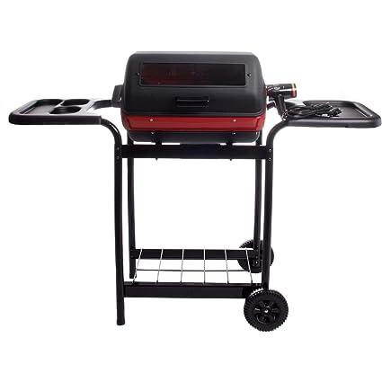 Amazon.com: MECO Elite carro eléctrico Grill, Negro: Jardín ...