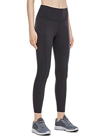 74ff8f787a62b CRZ YOGA Women's Naked Feeling High Waist 7/8 Tight Training Yoga Leggings  with Out