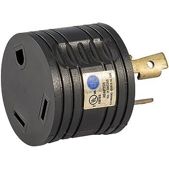 Amazon.com: Atima RV 30 AMP 3-Prong Generator Adapter