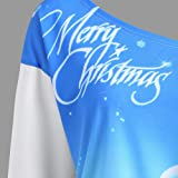 Zackate_Women Shirts Christmas Sexy Off Shoulder